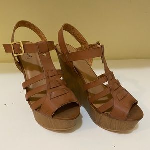 Qupid Brand New Strapped Heels